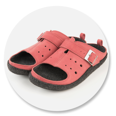 Klaveness obuwie domowe ME1050